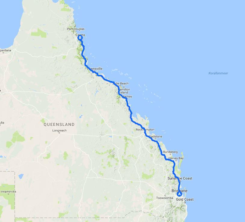 AUS-Route